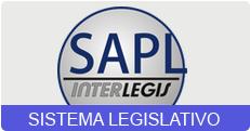Link para o SAPL Sistema de apoio ao processo legislativo