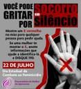 22 de julho: Dia Estadual de Combate ao Feminicídio.