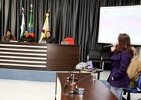 A audiência aconteceu na Câmara Municipal de Vereadores