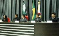 Alunos do Sesi são vereadores por um dia em Apucarana