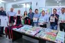 AME apresenta material didático e pedagógico, uniforme escolar e equipamentos para o ano letivo em Apucarana
