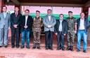 Bertoli e Poim participam das comemorações dos 49 anos do 30º BIMec