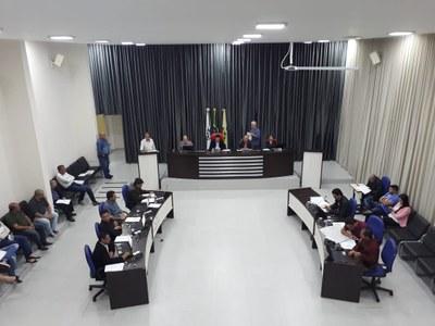 Câmara aprova 10 Projetos de Lei em Sessão Ordinária