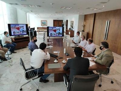 Em Curitiba, Poim e Junior da Femac apresentam projetos em Audiência com o Governador Ratinho Junior