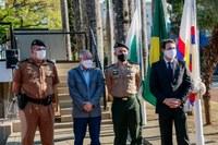 Hasteamento das bandeiras abre a Programação alusiva à Semana da Pátria em Apucarana