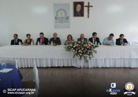 Molina participa da posse no Sindicato dos Contabilistas