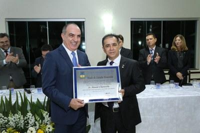 Mounir Chaowiche é Cidadão Honorário de Apucarana