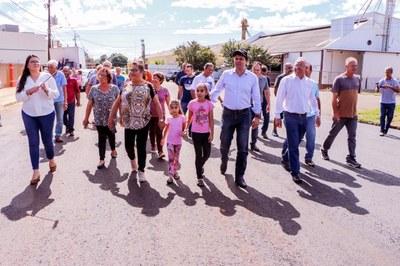 Obras de recape são entregues no Distrito de Pirapó