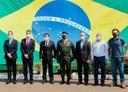 Poim e Marcos da Vila Reis participam de solenidade do Dia do Soldado