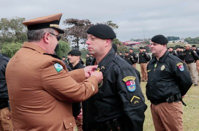 Polícia Militar do Paraná comemora 164 anos