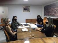 Procuradoria da Mulher realiza primeira reunião de trabalho na Câmara Municipal