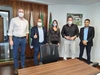 Tiago Cordeiro de Lima reúne-se com diretor–presidente da CEASA, Eder Bulblitz