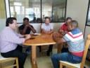 Vereadores de Rolândia visitam a Câmara Municipal