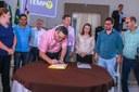 Vereadores participam com o prefeito Beto Preto de almoço para professores e funcionários da Educação