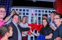 Vereadores participam da entrega das obras de ampliação da Escola Municipal Osvaldo dos Santos Lima