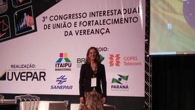 Vereadores participam de Congresso da UVEPAR em Curitiba