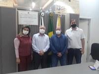 Vereadores recebem secretário Municipal de Saúde